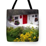 Dunmore East Harbour, County Waterford Tote Bag
