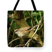 Dunnock In A Hedgerow Tote Bag
