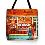 Dunn's Treats And Sweets Tote Bag