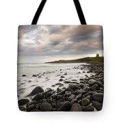 Dunstanburgh Castle Sunset Tote Bag