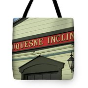 Duquesne Incline Tote Bag