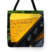 Durable Bumping Post Tote Bag