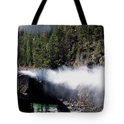 Durango Silverton Blowing Off Steam Tote Bag