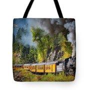 Durango-silverton Narrow Gauge Railroad Tote Bag