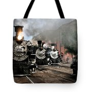 Durango - Silverton Railroad Tote Bag