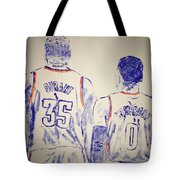 Durant And Westbrook Tote Bag