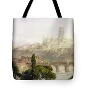 Durham Cathedral Tote Bag by George Arthur Fripp