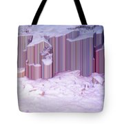 During The Snow Fall 33  Tote Bag