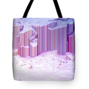 During The Snow Fall 35 Tote Bag