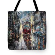 Dusk After The Rain Tote Bag