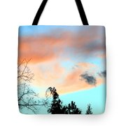 Dusk And Dogs Tote Bag