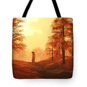 Dusk Approaches In Sleepy Hollow Tote Bag