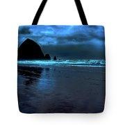 Dusk At Cannon Beach Tote Bag
