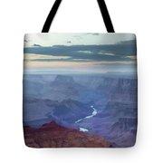 Dusk At Desert View Tote Bag