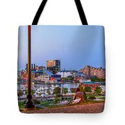 Dusk At Federal Hill Tote Bag