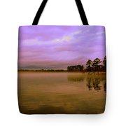 Dusk At Lake Murray Sc Tote Bag