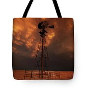 Dusk Down At The Mill Tote Bag