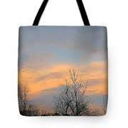 Dusk From The Deck Tote Bag