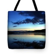 Dusk In December Tote Bag