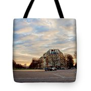 Dusk Tote Bag by Milan Mirkovic