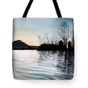 Dusk On Diablo Tote Bag