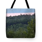 Dusk On The Hill Tote Bag