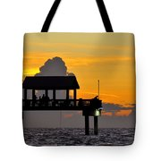Dusk Over The Gulf Tote Bag