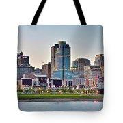 Dusk Pano In Cincinnati Tote Bag