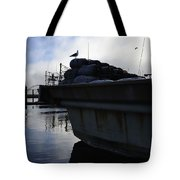 Dusk Seagull 2386 Tote Bag