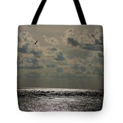 Dusk Sets In Tote Bag