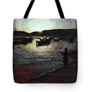 Dusky Harbor A La Van Gogh II Tote Bag