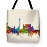Dusseldorf Germany Skyline Tote Bag