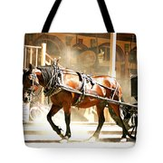 Dusty Horse Tote Bag