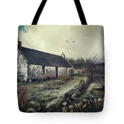 Dusty Morning Tote Bag
