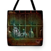 Dusty Old Bottles Tote Bag