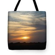 Dusty Sunset In Kansas Tote Bag