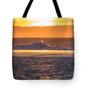 Dutch December Beach 003 Tote Bag