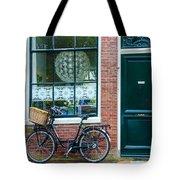 Dutch House Facade Tote Bag