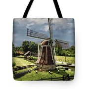 Dutch Windmill Near The Zuider Zee Tote Bag
