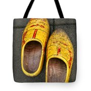Dutch Wooden Shoes Tote Bag