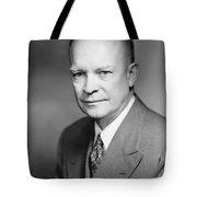 Dwight Eisenhower Tote Bag