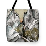 Dwimorberg     The Haunted Mountain  Tote Bag