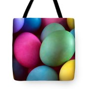 Dyed Easter Egg Abstract Tote Bag