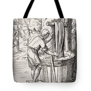 Dyer. 19th Century Reproduction Of 16th Tote Bag