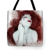 Dying Flower Tote Bag