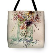 Dying Meadow Tote Bag
