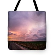 Dying Supercell Tote Bag