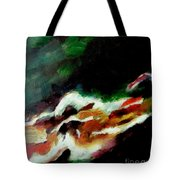 Dying Swan-abstract Tote Bag