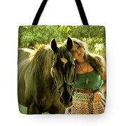 Dylly And Lizzy Tote Bag