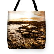 Dynamic Ocean Panoramic Tote Bag